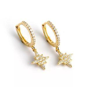 Handmade - 9.25 silver polaris earrings